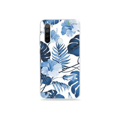 Capa para Xiaomi Redmi Note 8 - Flowers in Blue