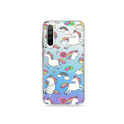 Capa para Xiaomi Redmi Note 8 - Unicórnios Felizes