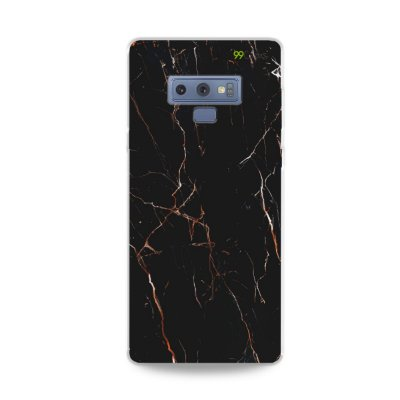 Capa para Galaxy Note 9 - Marble Black