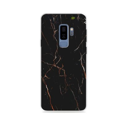 Capa para Galaxy S9 Plus - Marble Black