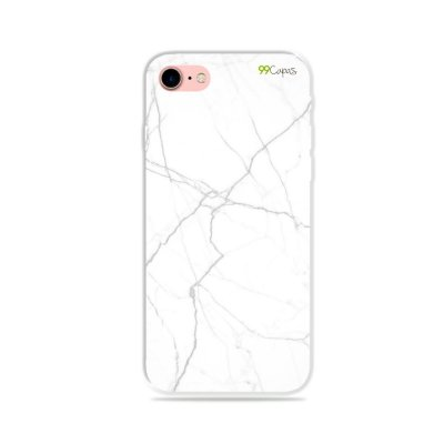 Capa para iPhone 7 - Marble White