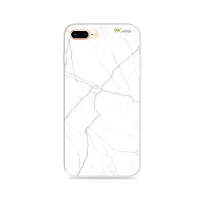 Capa para iPhone 7 Plus - Marble White