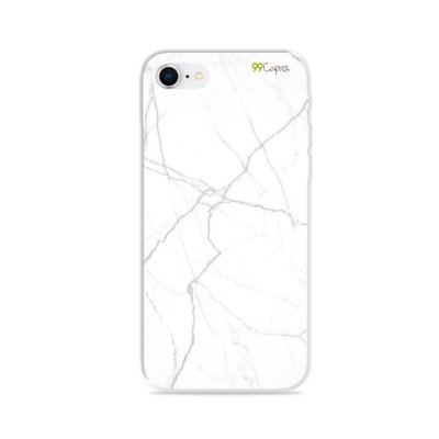 Capa para iPhone 8 - Marble White