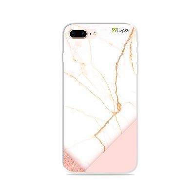 Capa para iPhone 8 Plus - Marble