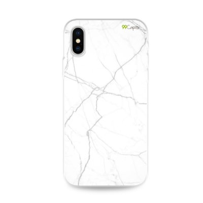 Capa para iPhone X/XS - Marble White