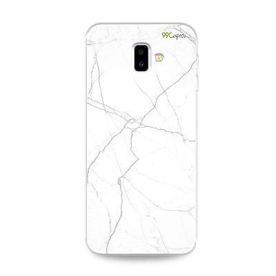 Capa para Galaxy J6 Plus - Marble White