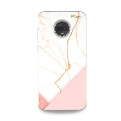 Capa para Moto G7 - Marble