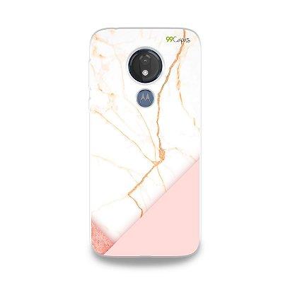 Capa para Moto G7 Power - Marble