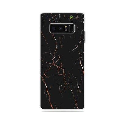 Capa para Galaxy Note 8 - Marble Black