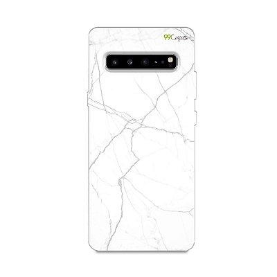 Capa para Galaxy S10 - Marble White