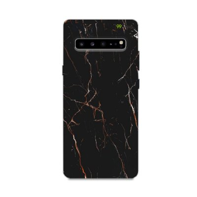 Capa para Galaxy S10 - Marble Black