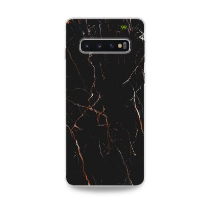 Capa para Galaxy S10 Plus - Marble Black