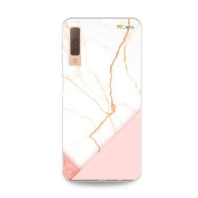 Capa para Galaxy A7 2018 - Marble