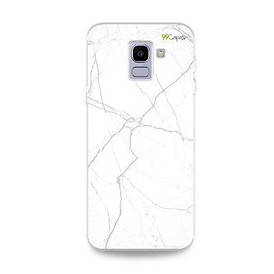 Capa para Galaxy J6 - Marble White