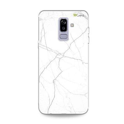 Capa para Galaxy J8 - Marble White