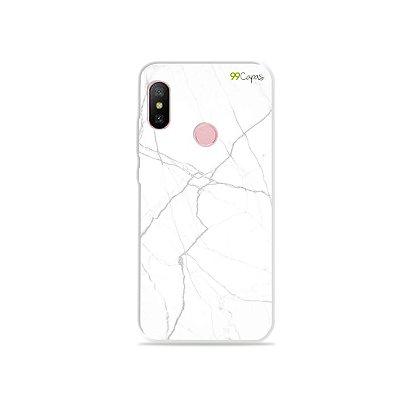 Capa para Xiaomi Redmi Note 6 - Marble White
