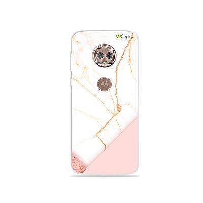 Capa para Moto G6 Plus - Marble