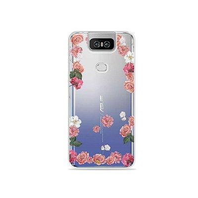 Capa para Zenfone 6 - Pink Roses
