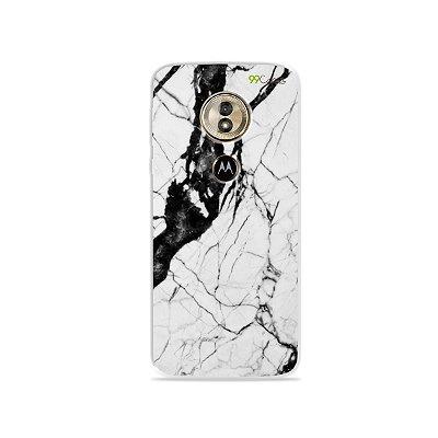 Capa para Moto G6 Play - Marmorizada