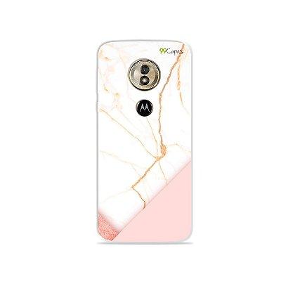 Capa para Moto G6 Play - Marble
