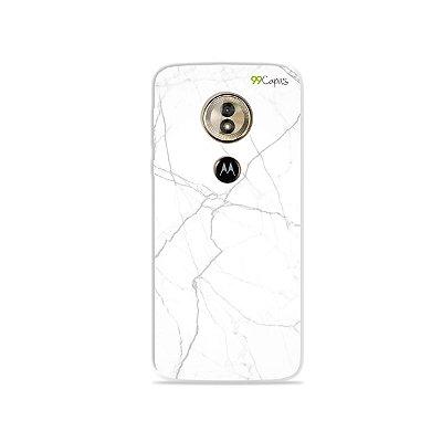 Capa para Moto G6 Play - Marble White