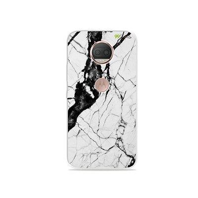 Capa para Moto G5S Plus - Marmorizada