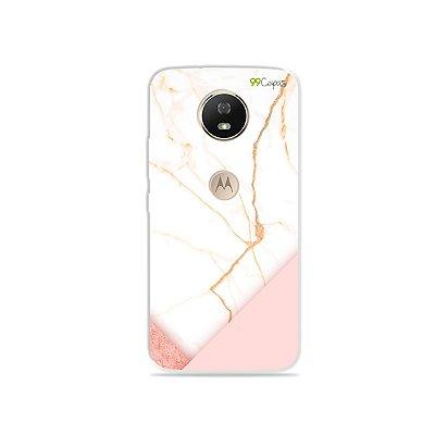 Capa para Moto G5S - Marble