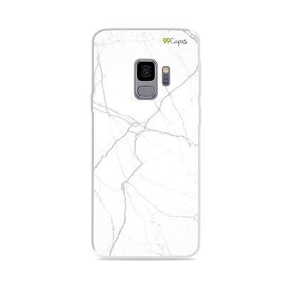 Capa para Galaxy S9 - Marble White