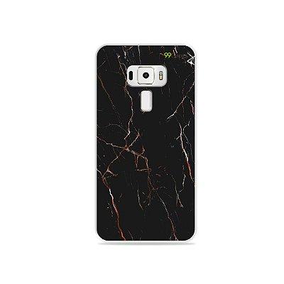 Capa para Zenfone 3 - 5.5 Polegadas - Marble Black