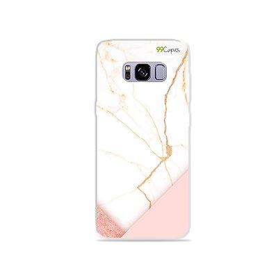 Capa para Galaxy S8 - Marble