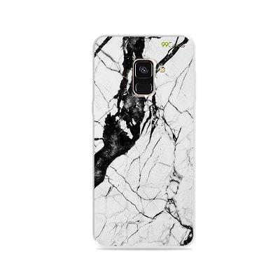 Capa para Galaxy A8 2018 - Marmorizada