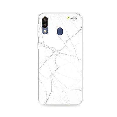 Capa para Galaxy M20 - Marble White