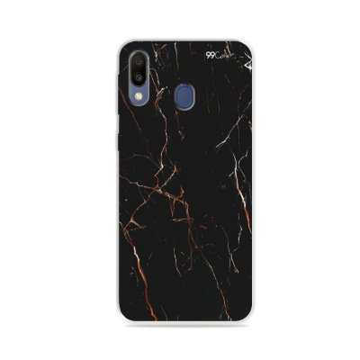 Capa para Galaxy M20 - Marble Black