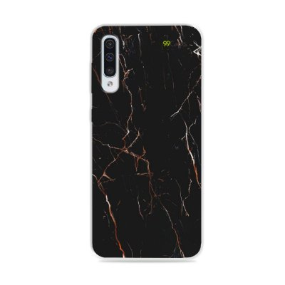 Capa para Galaxy A50 - Marble Black