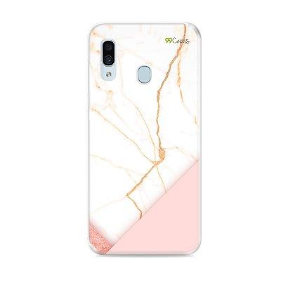 Capa para Galaxy A30 - Marble