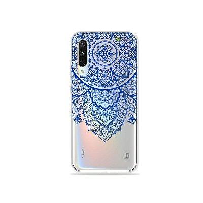 Capa para Xiaomi Mi A3 - Mandala Azul
