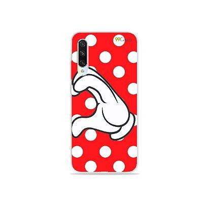 Capa para Xiaomi Mi A3 - Coração Minnie