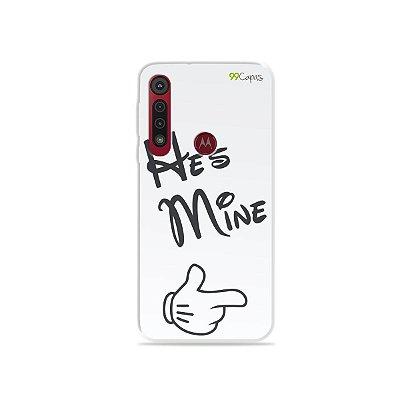 Capa para Moto G8 Plus - He's Mine