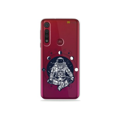 Capa para Moto G8 Plus - Astronauta