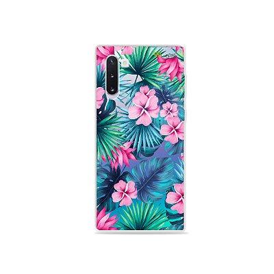 Capa para Galaxy Note 10 - Tropical