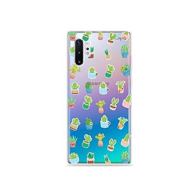 Capa para Galaxy Note 10 - Cactus