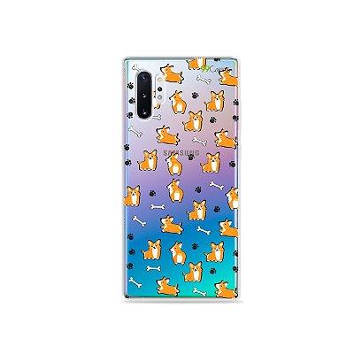 Capa para Galaxy Note 10 - Cãozinho