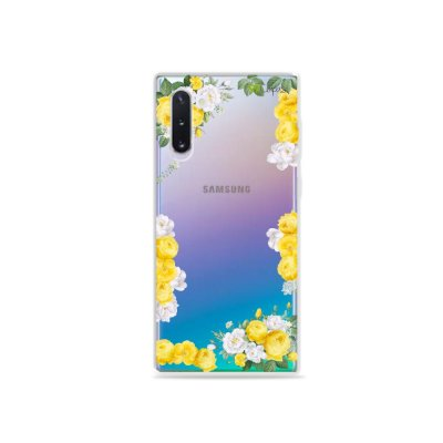 Capa para Galaxy Note 10 - Yellow Roses