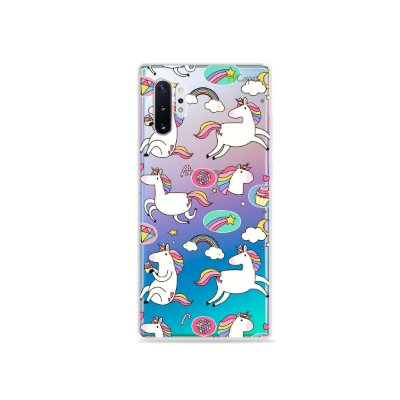 Capa para Galaxy Note 10 - Unicórnios Felizes