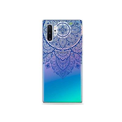Capa para Galaxy Note 10 - Mandala Azul