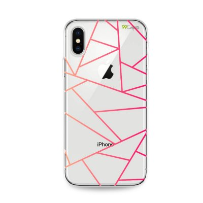 Capa para iPhone X/XS - Abstrata