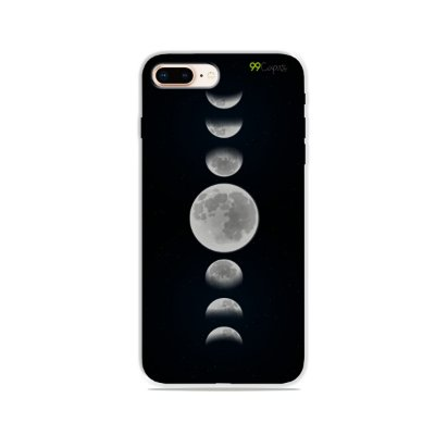 Capa para iPhone 8 Plus - Fases da Lua