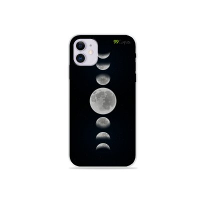 Capa para iPhone 11 - Fases da Lua