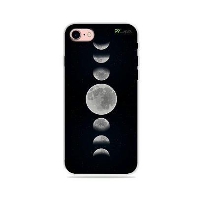Capa para iPhone 7 - Fases da Lua