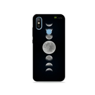 Capa para Xiaomi Mi 8 - Fases da Lua